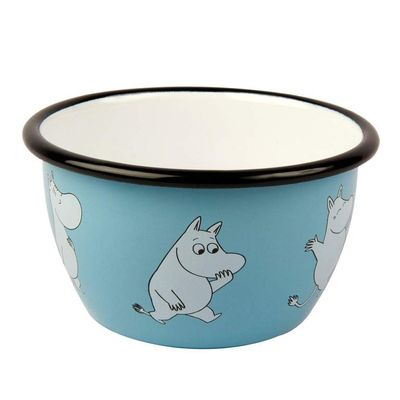 Retro Moomin Light Blue Skál 4 dl