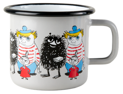 Moomin Friends Grey 3,7 dl