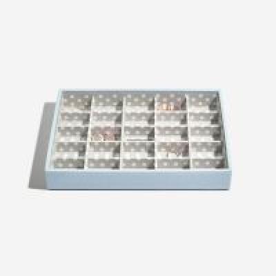 Stackers box blátt með litlum hólfum
