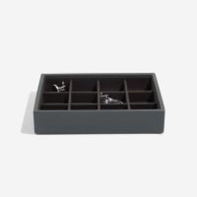 Stackers box mini grátt með litlum hólfum