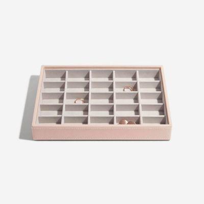 Stackers box bleikt með litlum hólfum