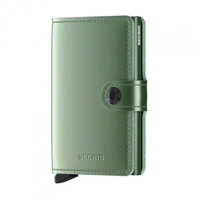Secrid veski Metallic Green