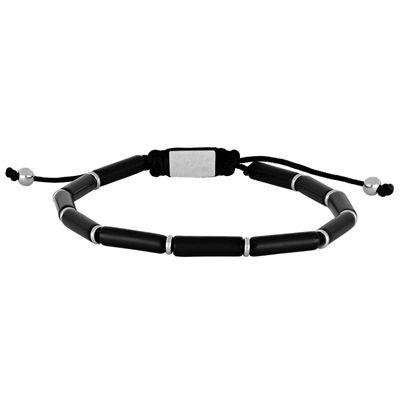 Onyxkúlu armband