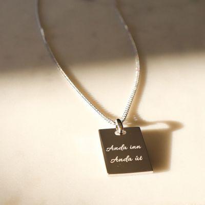 Inspo Necklace Anda inn Anda út