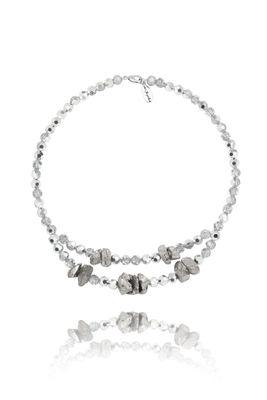 Hálskeðja- Silver Rocks