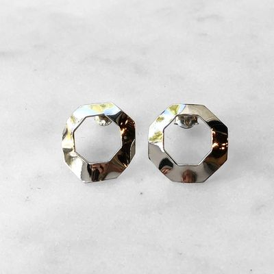Octagon Flow Earrings