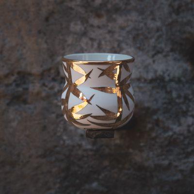 Veltibolli - Bambus - Gylltur