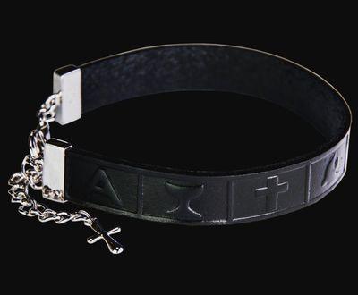Infinity armband leður