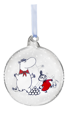 Jólakúla - Moomin & Mia - 9 cm