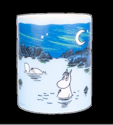 Moomin in Iceland Lagoon - 12 cm kerti