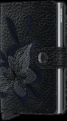 Miniwallet Stitch Magnolia Black