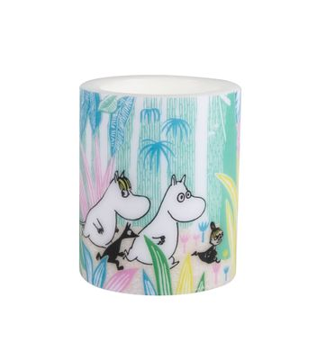 Moomins in the Jungle 8 cm kerti