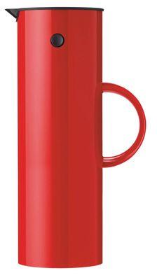 Stelton EM77 kaffikanna 1l rauð