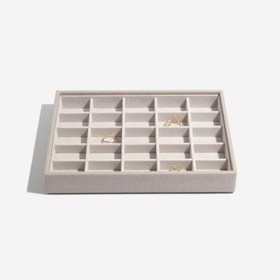 Stackers box grátt með litlum hólfum