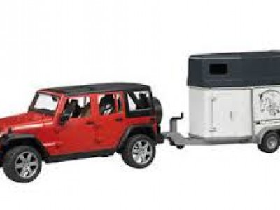 Jeppi, Jeep Wrangler með hestakerru