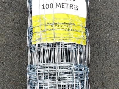 Túngirðinganet, 6str, 100m, 90cm, Hampt