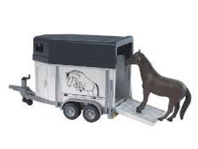 Hestakerra og hestur