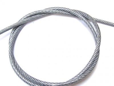 Stálvír, PVC, 4/6mm, 1m