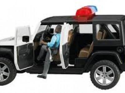 Lögreglubíll, Jeep Wrangler