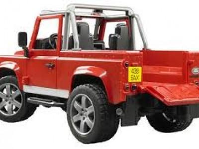 Jeppi, Land Rover pallbíll