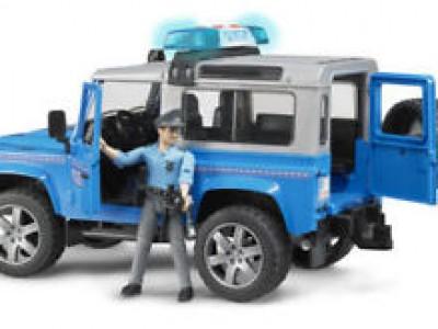 Lögreglubíll, Land Rover