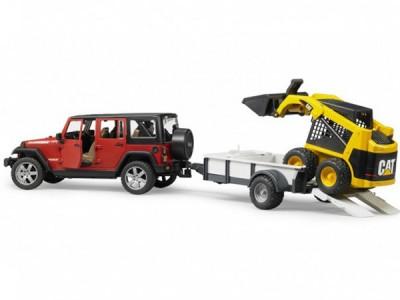 Jeppi, Jeep Wrangler unlimited með kerru