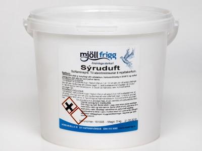 Sýruduft/Þvottasýra, 5kg