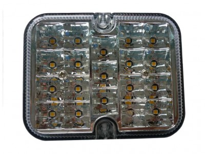 Bakkljós, LED, 12V
