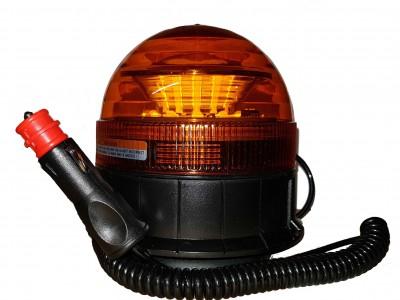 Hálfviti, LED, 12/24V, segull