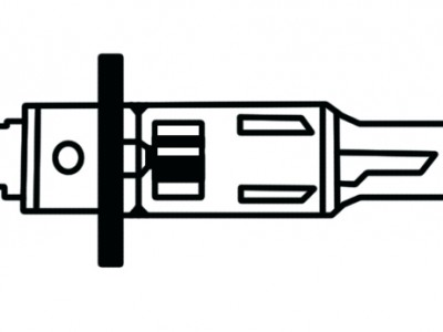Pera, H1, 12V, 55w
