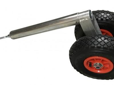 Nefhjól, 48mm, tvöfalt, 200kg