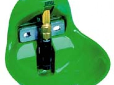 Brynningarskál, plast með ventli