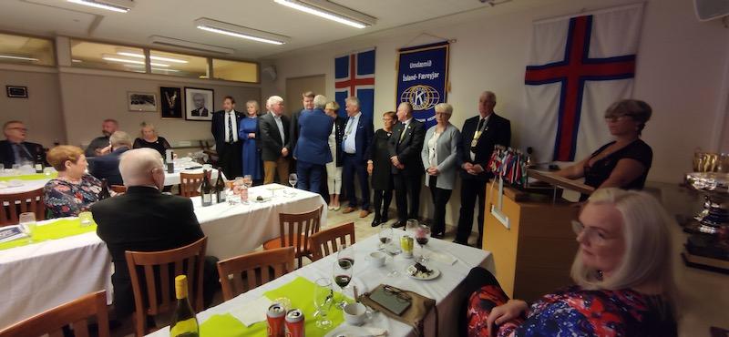 Stjórnarskipti í Umdæminu Ísland – Færeyjar !