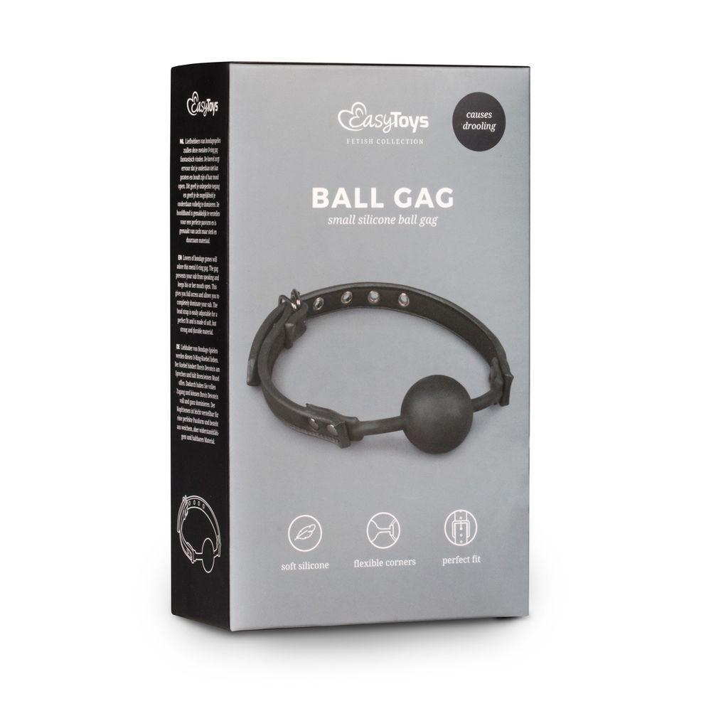 Ball gag með sílikon bolta