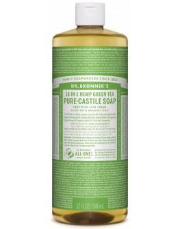 Bronners lífræn sápa - 946ml green tea