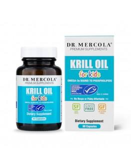 Mercola Krill olía krakka 60 hylki