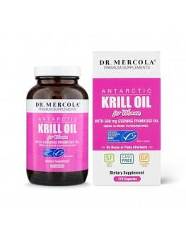 Mercola Krill fyrir konur 270hylki 3mán