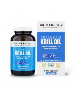 Mercola Krill olía 180 hylki 3mán