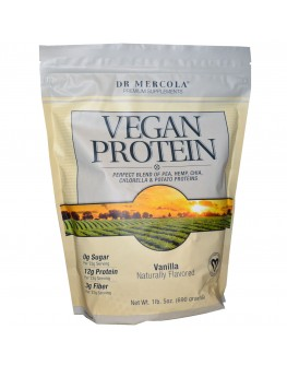 Mercola vegan prótein vanilla