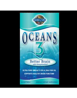 GL Oceans3 - Omega 3 fyrir heilann