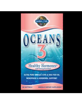 GL Oceans 3 - Omega 3 fyrir hormónana