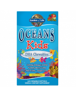 GL Oceans Kids - omega 3 tuggutöflur