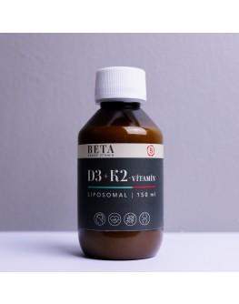Beta Liposomal D3+K2 vítamín 100ml