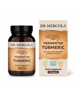 Mercola gerjað Turmeric 60hylki