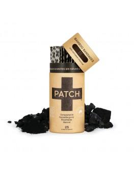 Patch bambusplástur - Kol 25stk. í stauk