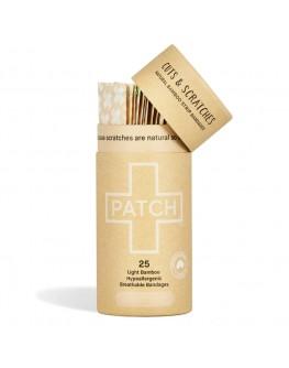 Patch bambusplástur - Náttúrul. 25stk.