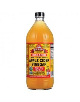 BRAGG lífrænt epla edik 946ml