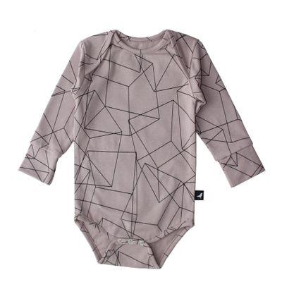 Body Suit - Blush Cubes