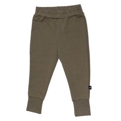 Baby Slim Pants - Olive