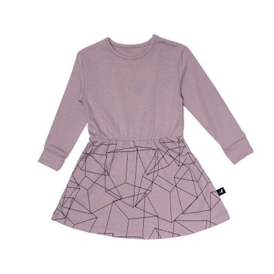Dress - Blush Cubes